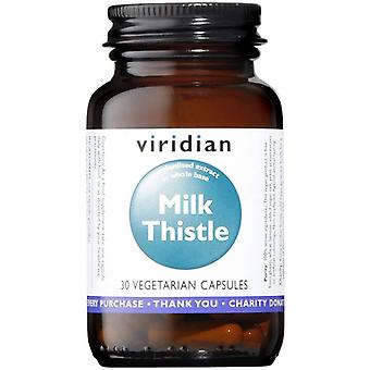Viridian Milk Thistle Herb/Seed Extract Veg Caps 30 (840)