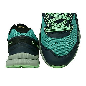Merrell Agility Fusion Flex Womens Trail Running Trainers / Shoes - Turquoise