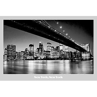 Poster - Studio B - 24x36 New York, New York Wall Art CJ2230