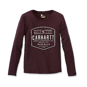 Carhartt Women's Long Sleeve Shirt Lockhart Graphic