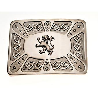 Belt Buckle Lion Antique WES