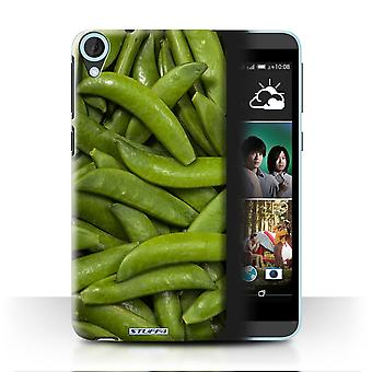STUFF4 Case/Cover for HTC Desire 820G+ Dual/Green Beans/Food