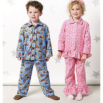 Toddlers' Children's Tops And Pants  Cf 4  5  6 Pattern M6458  Cf0