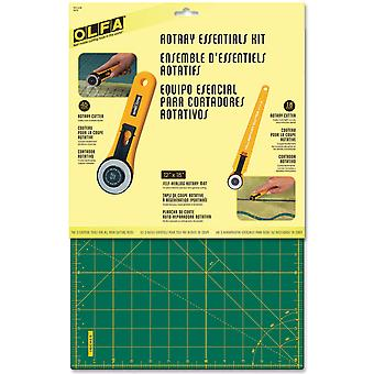 Olfa Rotary Essentials Kit 9670