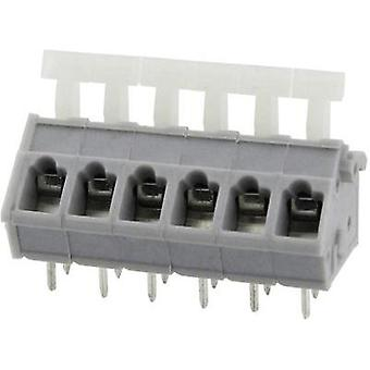 Spring-loaded terminal 3.31 mm² Number of pins 2 DG243-5.0-02P-11-00AH Degson Grey 1 pc(s)