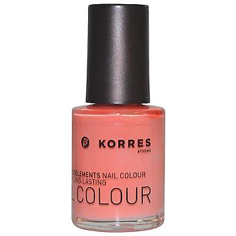 Korres Nail Color High Shine Long Lasting 10ml Mango Sorbet (#42)