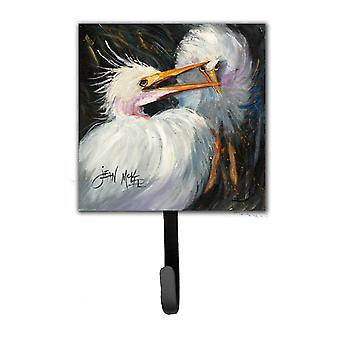 White Egret Leash or Key Holder JMK1213SH4