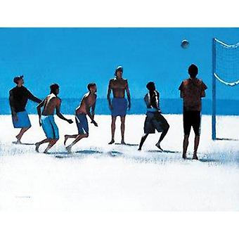 Peter Nardini print - volleybal, Venice Beach