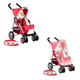 Decuevas Stroller with Rain Cover (Toys , Dolls And Accesories , Baby Dolls , Strollers)
