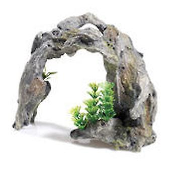 Classic For Pets Driftwood Arch/Plant 2pcs (Fish , Decoration , Rocks & Caves)