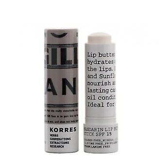 Korres Lip Stick Spf15 Transparant (Woman , Cosmetics , Skin Care , Eyes and lips)