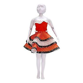 Dress Your Doll Maggy Flamenco