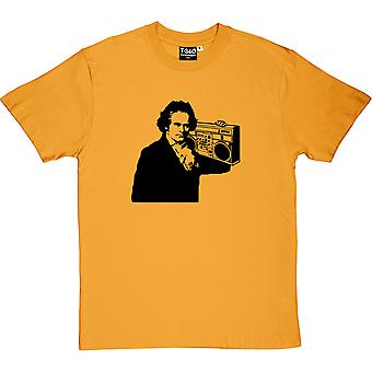 Beethoven Ghetto Blaster mænd T-Shirt