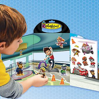 Colorforms(R) Take Along Re-Stickable Sticker Set-Paw Patrol COLORTA-922