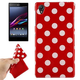 Protective case for mobile phone Sony Xperia Z1 Red