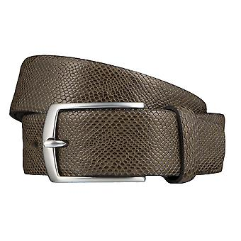 Bovino snake optical belts men's belts leather belt leather khaki 3542