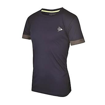 Dunlop AC Club crew neck navy T-Shirt men's