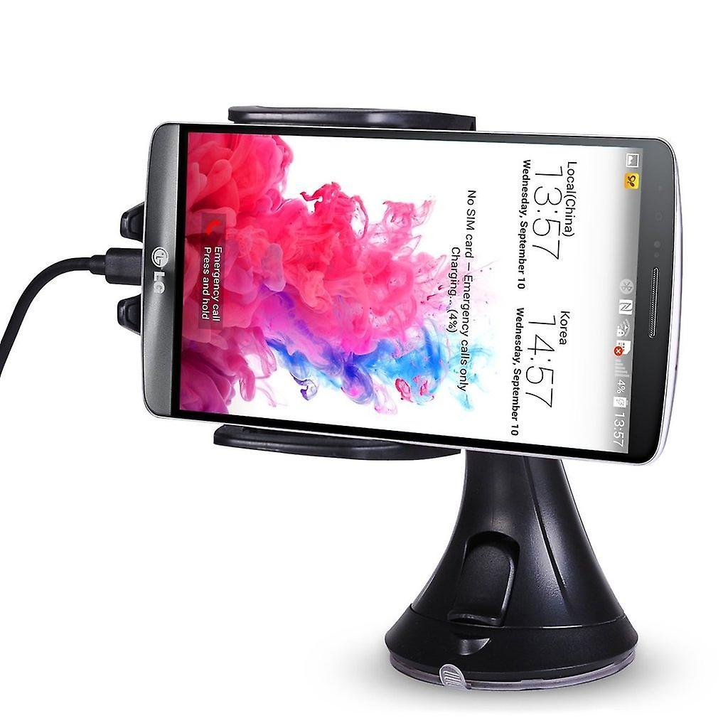 ONX3 (chargeur de voiture Qi sans fil + récepteur Qi) LG Nexus 5 X Pack de Charge rapide universelle QI sans fil Chargeur Station support à ventous pour pare-brise   tableau de bord et QI sans fil chargeur récepteur Module Film