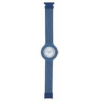 Hip hop watch håndled ur silikone ur 42 mm lys blå Jeans HWU0297