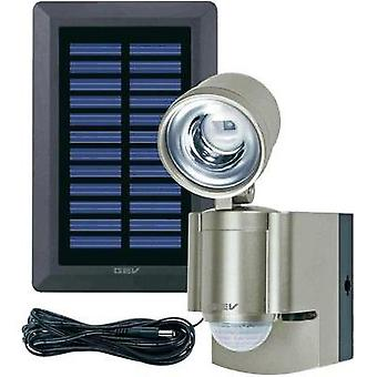 Solar spotlight (+ motion detector) 3 W Cold white GEV 014817 Champagne