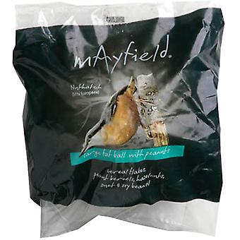 Mayfield fedt bold med Peanuts store Single Poly 500g (pakke med 6)