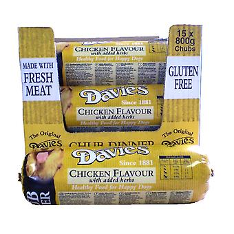 Davies kylling Chub 800gm (pakke med 15)