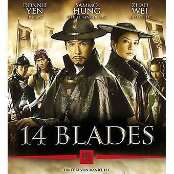 14 Blades [BLU-RAY] USA import