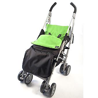 Genesis Universal Showerproof  Plain Footmuff Fleece Lined Windproof  Cosytoes Buggy Liner