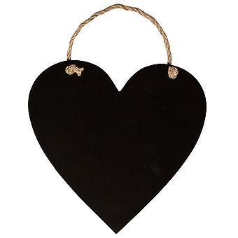 Hanging Heart Chalk Board - Small - Wedding Home Decoration