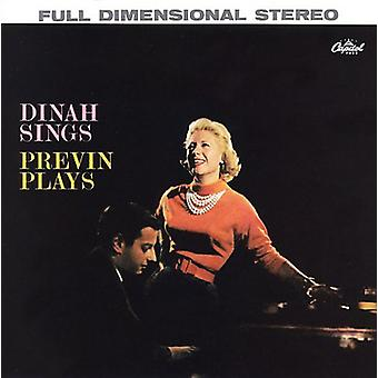 Dinah Shore - Dinah Sings Previn Plays [CD] USA import