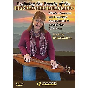 At udforske skønheden i Appalachian Dulcimer [DVD] USA importen