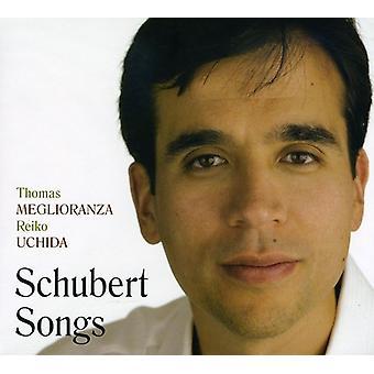 Meglioranza/Uchida - Schubert Songs [CD] USA import