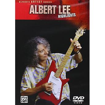 Albert Lee - højdepunkter [DVD] USA import