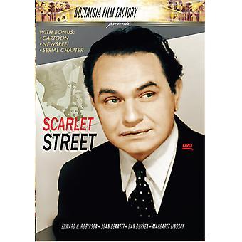 Calle escarlata [DVD] los E.e.u.u. la importación