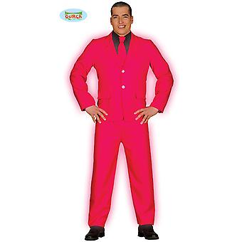 Suit businessman gentleman Mister pink costume