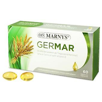 Marny's Germar - Wheat Germ 500 mg X 60 Capsules
