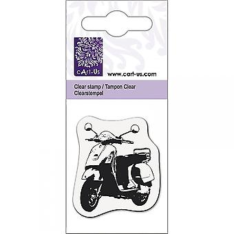 Knorr Prandall Scooter Mini Clear Stamp