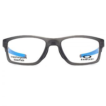 Oakley Crosslink Glasses In Satin Grey And Blue
