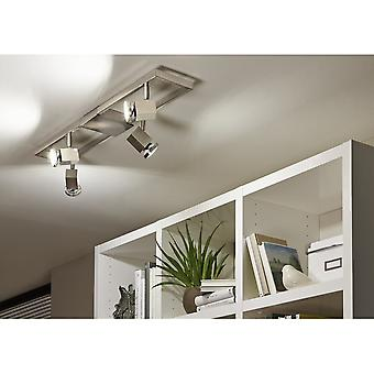 Eglo Zeraco 4 Cubed Spot Ceiling Light