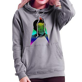 Rainbow Hikaru Sulu George Takei LGBTQ Pride Star Trek Women's Hooded Sweatshirt
