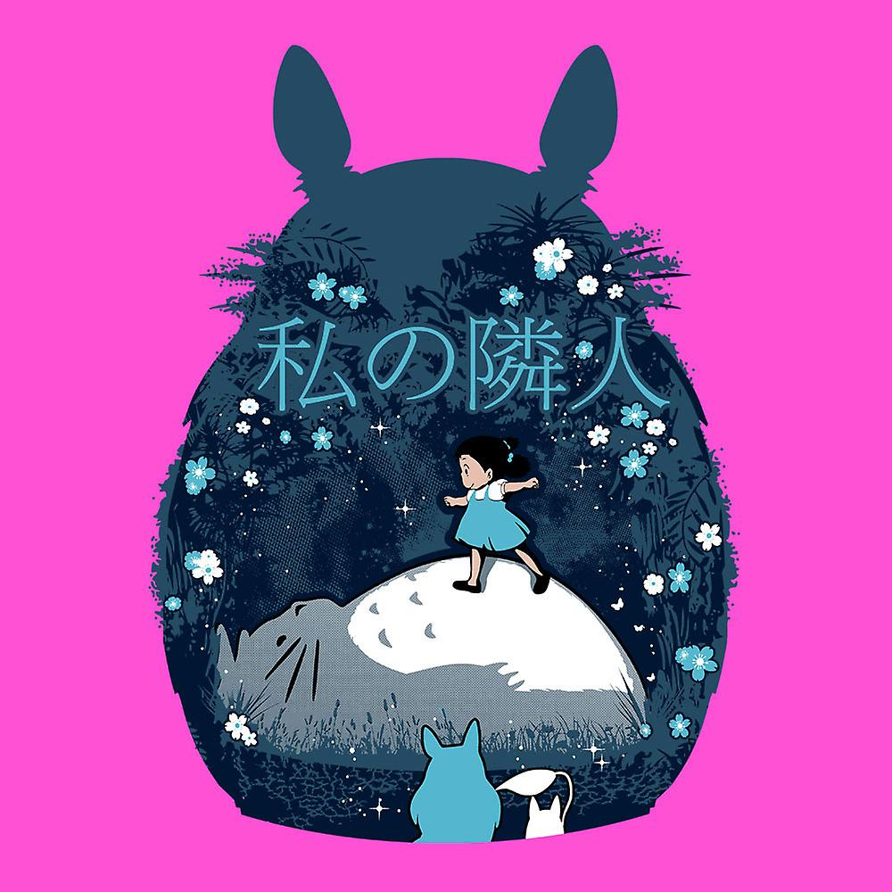 Mein Nachbar Totoro Nacht Montage Damen T Shirt Fruugo