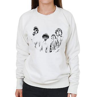 Pink Floyd Ruskin Park schießen 1967 schwarz / weiß Damen Sweatshirt