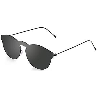 Ocean Berlin Flat Lense Sunglasses - Black