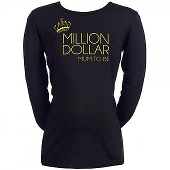 Spoilt Rotten Million Dollar Mum To Be Maternity T-Shirt (14-16)