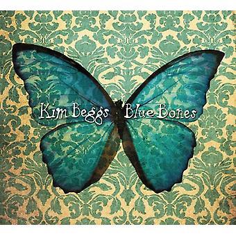 Kim Beggs - blå knogler [CD] USA import