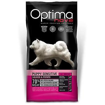 Optimanova  Puppy Salmon & Potato GrainFree  (Chiens , Nourriture , Croquettes)