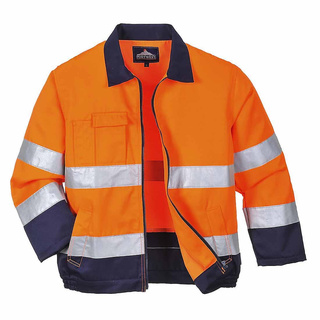 SUw - Texo Madrid Workwear Uniform Abrasion Resistant Hi-Vis Safety Jacket