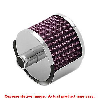 K&N Universal Filter - Crankcase Vent Filters 62-1170 Chrome Fits:UNIVERSAL | |