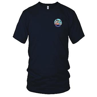 US Navy DD-446 USS Radford Embroidered Patch - Mens T Shirt