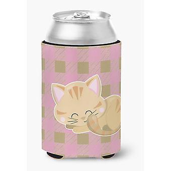 Carolines tesoros BB6880CC gatito durmiendo puede o botella Hugger